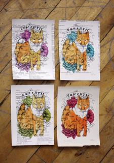 fox print | by Aya Rosen