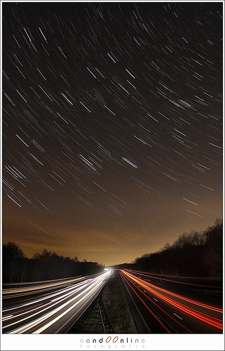 Star lines above highway lines (1D004988) | by nandOOnline