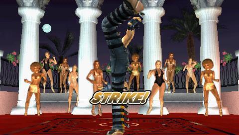 Tekken 5 Dark Resurrection - bowling
