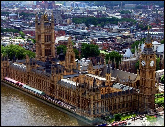 A ride on London Eye