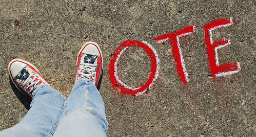 VOTE | by Theresa Thompson