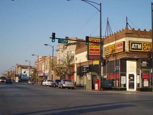 S. Michigan commercial district   by repowers