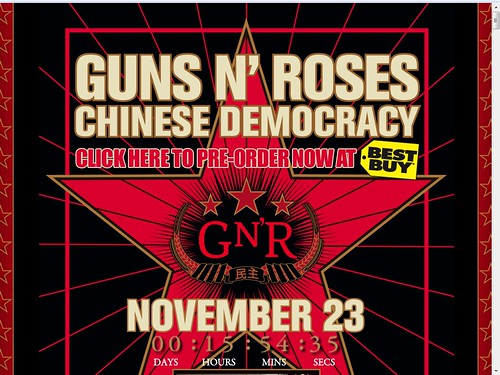Guns N' Roses in Myspace | by shinyai