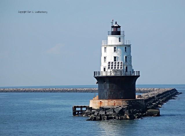 Delaware, Lewes, Harbor of Refuge Light (2,009)