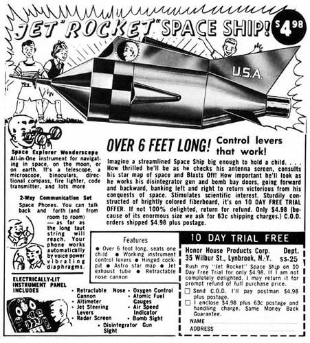 Jet 'Rocket' Space Ship