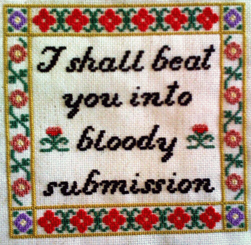 Bloody Submission | by kittykill