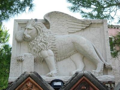 Winged Stone Lion