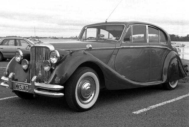 1950 Jaguar Mk V saloon