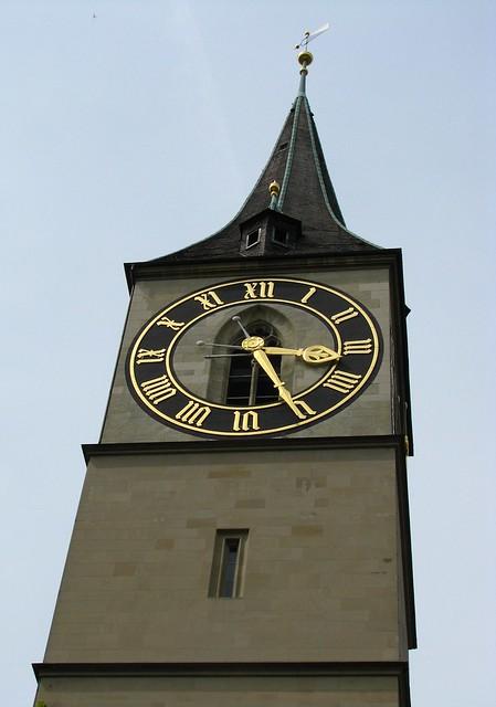 St. Peter's Church, Zurich, Switzerland