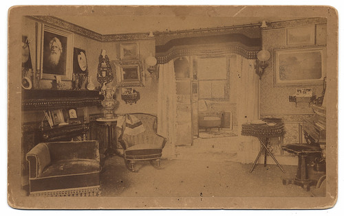Interior of the house of Samuel Finley Breese Morse | by Smithsonian Institution
