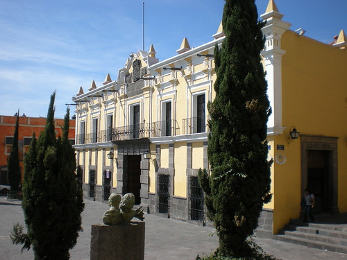 beautiful colonial Puebla