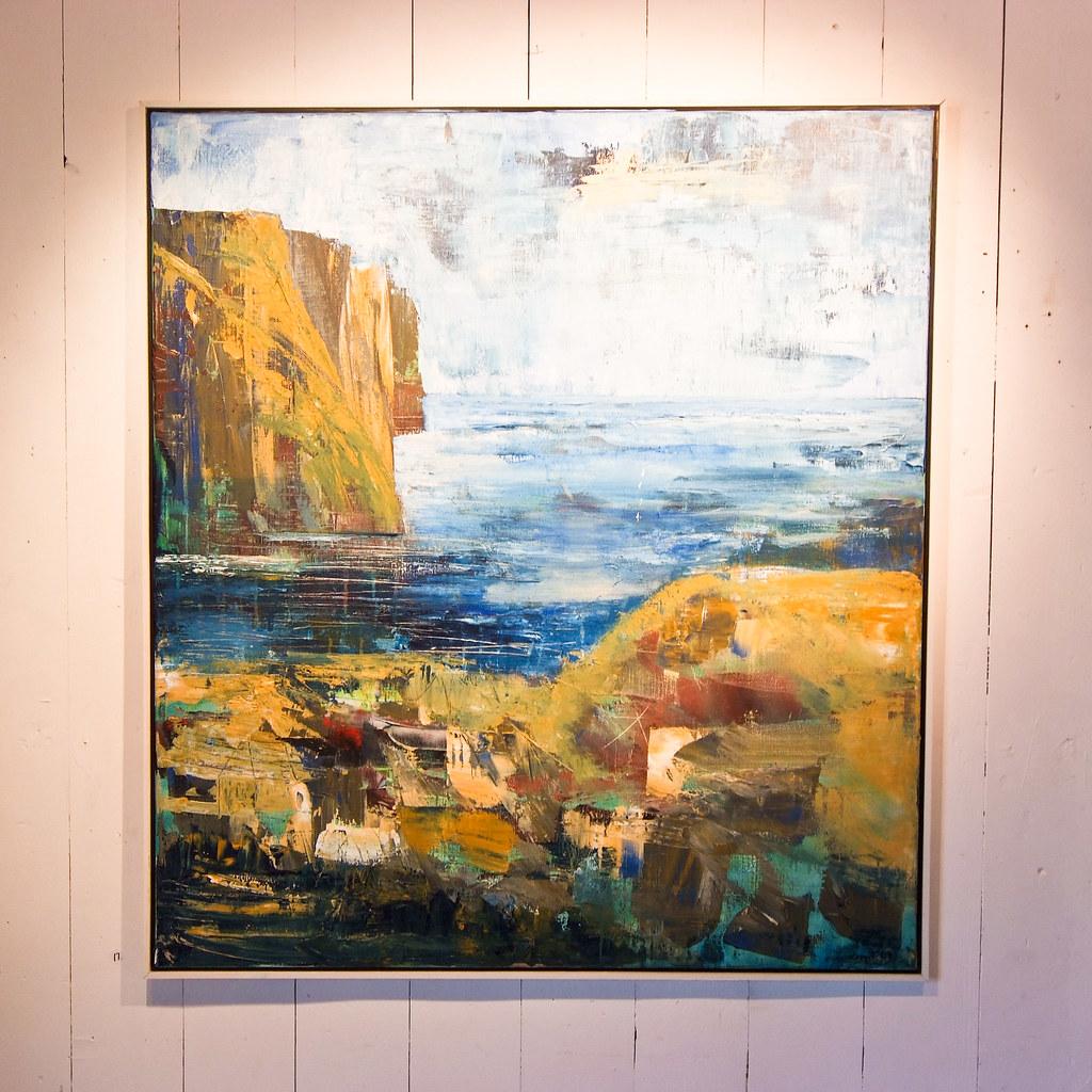 Faroese art in Fuglafjørður | Arne List | Flickr