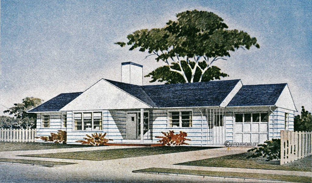 The Groveland::1950s Ranch Style Home::Floor Plans | Flickr on split level home floor plans, exterior ranch remodel plans, 1950s colonial house plans, 1950s cottage house plans, 1950s bungalow, 1950s rambler home plans, 1950s home interiors, 1950s farm house plans, 1950s home decor, 1950s 60s style houses, 1950s mid century home plans, 1950s cape cod house plans, 1950s brick house plans, 1950s cape cod home plans, 1950s modern home floor plan, 1950s vacation home plans, 1950s split level home plans, 1950s ranch floor plans,