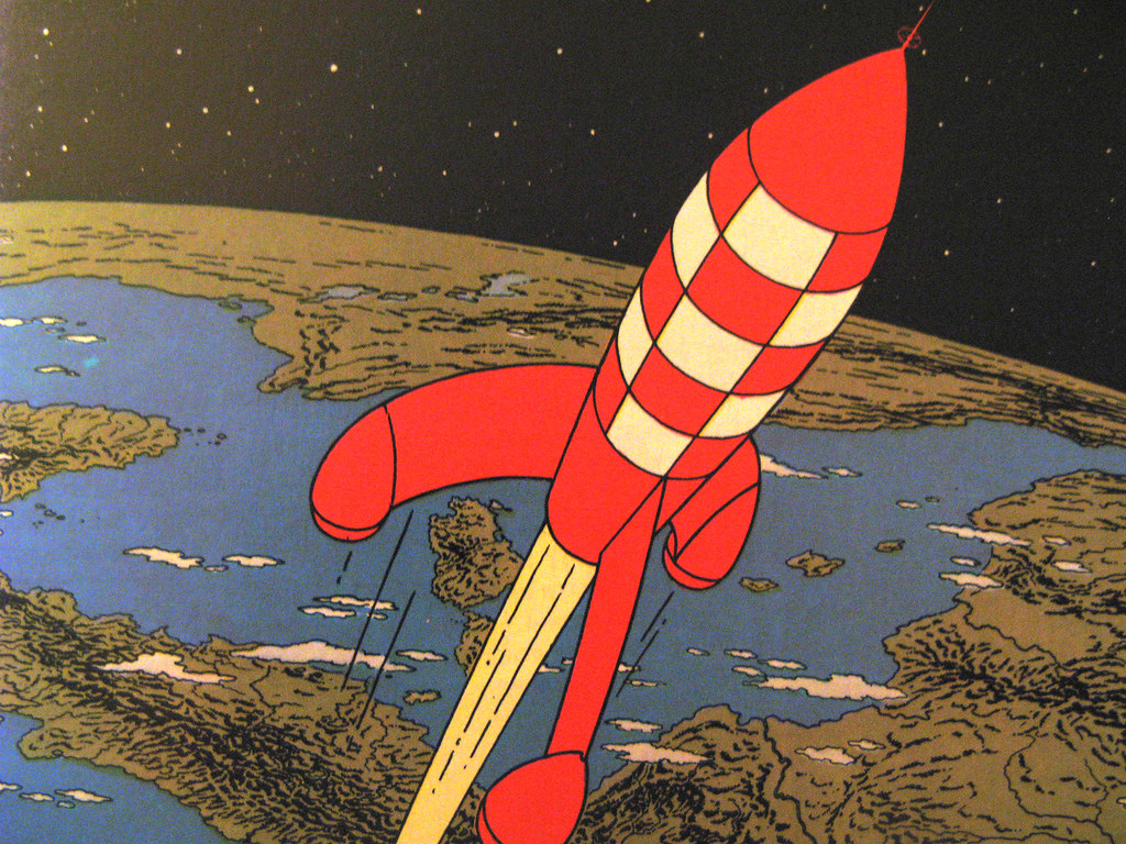 Tintin : Objectif Lune | Kay Harpa | Flickr
