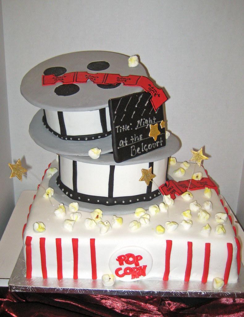 Groovy Oscar Night America Cake At The Belcourt In Nashville Tn Flickr Personalised Birthday Cards Xaembasilily Jamesorg