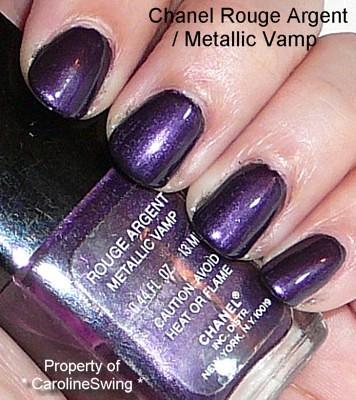 Chanel Metallic Vamp Nail Polish Carolineswing Flickr