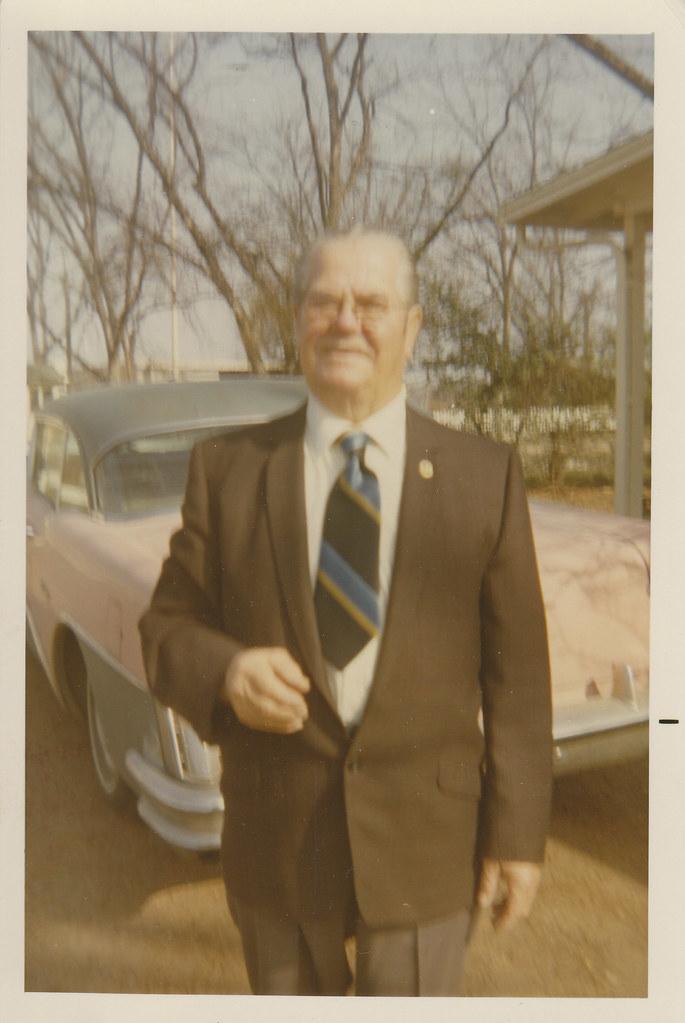 Used Car Salesman Or Perhaps A Preacher Found Photograph Jeff