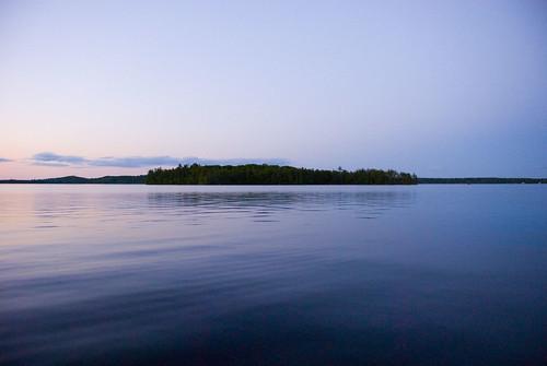 sunset lake beautiful maine oakisland belgradelakes
