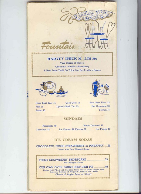 Downey, California Harvey's Broiler Menu | Found these on th