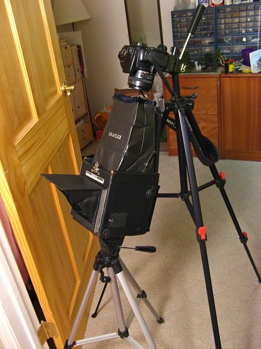 The setup for the shot | by Contrabass
