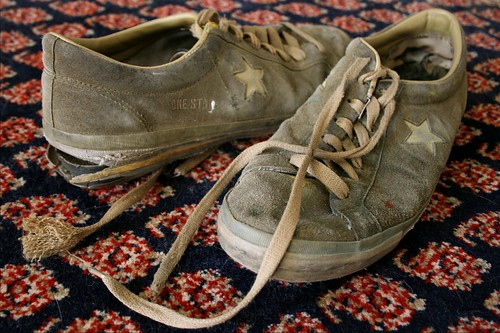 Six Shot Shoes: Old Converse One Stars | by 7-how-7