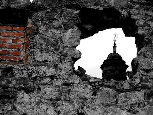 Ruinas de un barrio ....