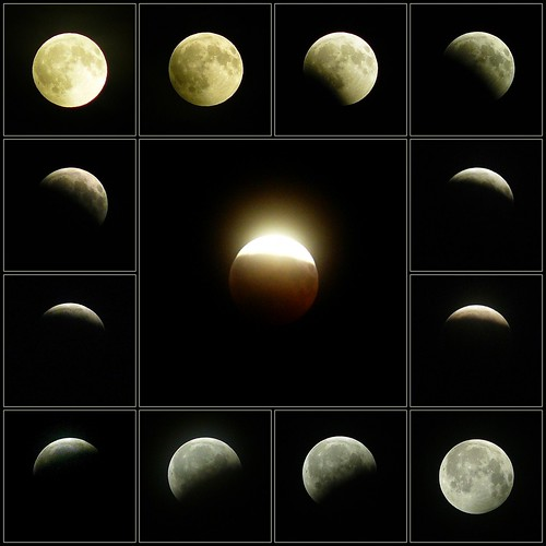 Partial Lunar Eclipse | by Claude@Munich