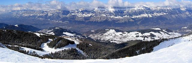 panoramique Prapoutelle, Alpes