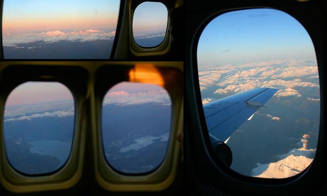 finestrini aereo