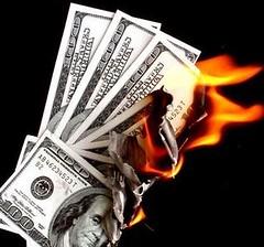 Buring Money | by purpleslog