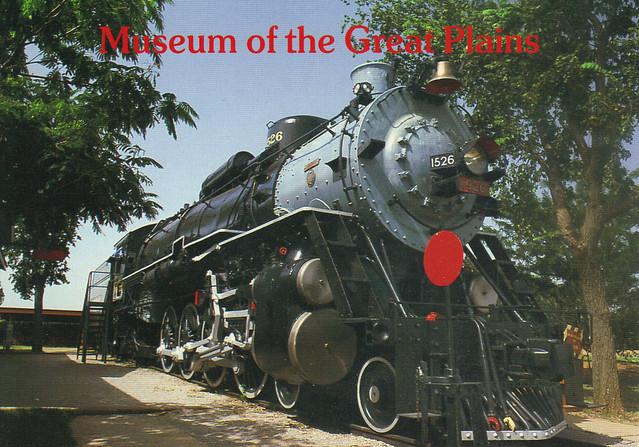 Great Plains Museum Postcard