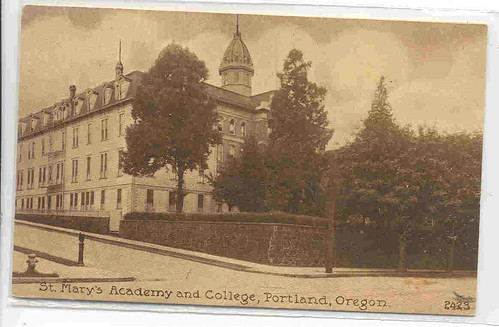 St Mary's Academy, Portland, OR Around 1895