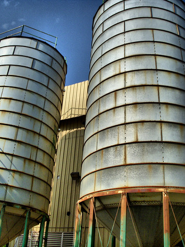 Grace Silos HDR | by RandomConnections