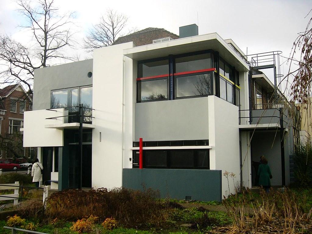Gerritt Rietveld- Schroder House, 1923-24