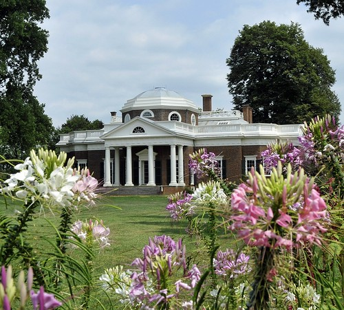 Monticello (Through the Flowers) | by Tony Fischer Photography