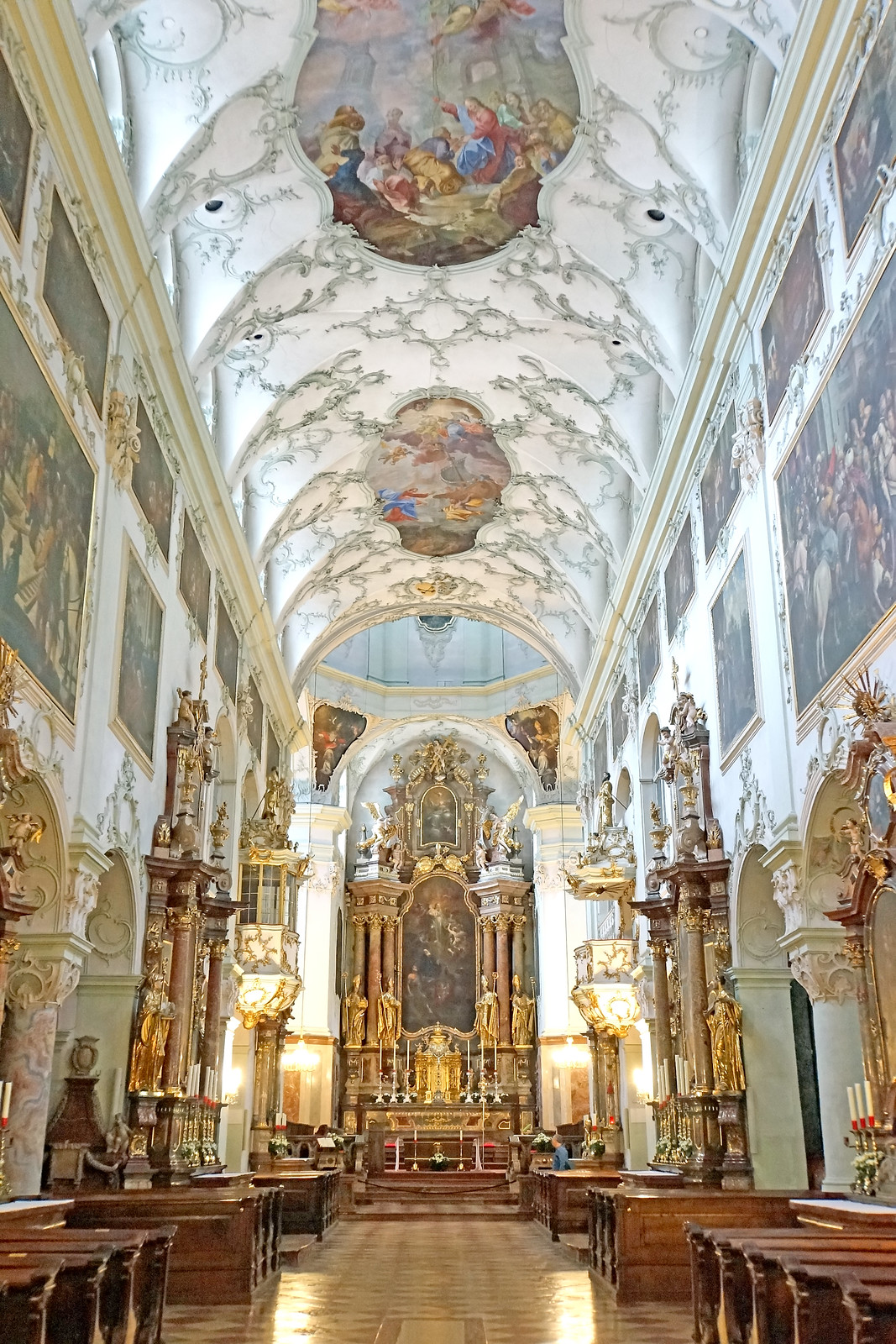 Interior design of St. Peters Abbey- One of the spectacular attractions in Salzburg