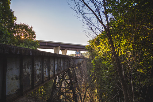 train unitedstates pennsylvania wheelingandlakeerie mingocreekviaduct mingotrestle