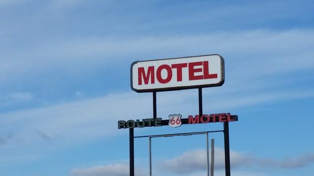 Route 66 Motel in Lebanon, Missouri.