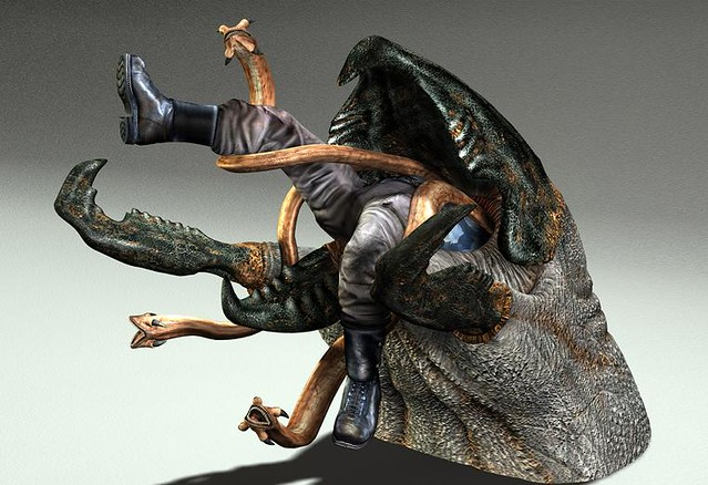 Graboid 2 A Snake Monster From The Movie Tremors