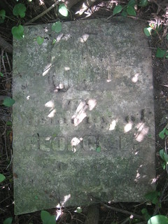 George F. Smith - buried in 1856 at Smith Family burying ground, South Dorchester, Elgin, Ontario, Canada | by Elgin OGS