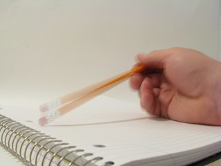 Tapping a Pencil | by Rennett Stowe