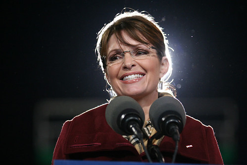 "Governor Sarah Palin at the ""Road to Victory"" rally in Richmond, VA 11/01/08 