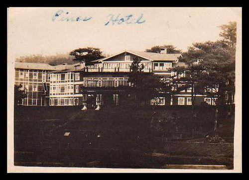 Pines Hotel Baguio 1920s