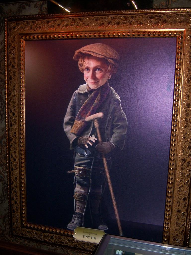 Tiny Tim at Disney's A Christmas Carol Train Tour | Loren Javier | Flickr