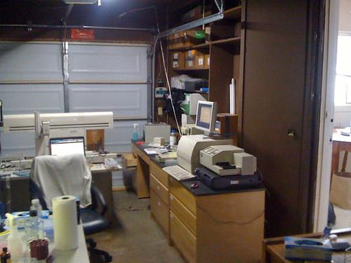 Garage lab in Silicon Valley