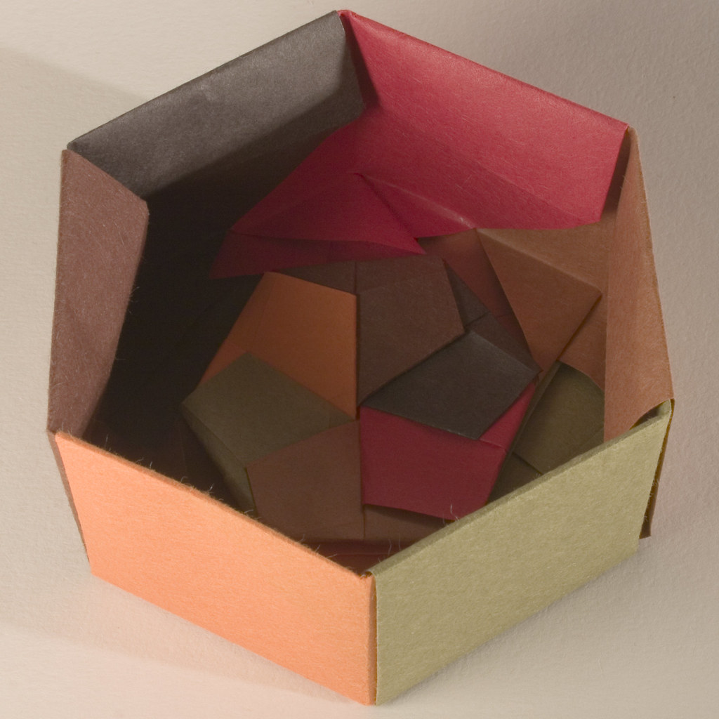 Origami Gift Box with one piece of paper | Origami box easy ... | 1024x1024