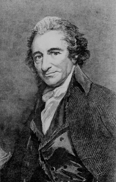 Thomas Paine, Engraving