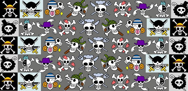 One Piece Jolly Roger Wallpaper Miggret92 Flickr