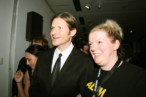 Crispin Glover and Nicky Gogan | by darklight festival