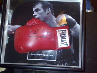 Joe Calzaghe boxing glove | by markhillary